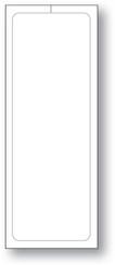 "Addendum Stickers (Adhesive) Plain Stock Size 3-1/8"" x 11"""