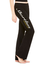 Bella + Canvas  Ladies' Fleece Straight Leg Sweatpant  7.5 oz., 100% combed and ringspun cotton
