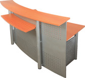 Rapid Worker Reception Counter R20 - 1800mm