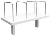 Citi Desk Mounted Shelf