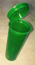 Green (tall) storage container designed for moon clips and moon clip checkers. Pkg of 1.