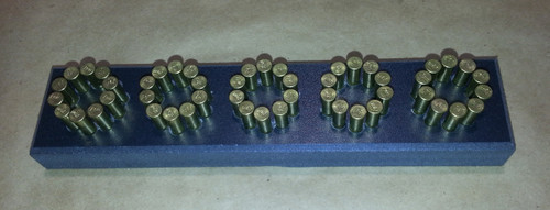 Loading Block S&W 617 10 Shot. Ammunition not included.