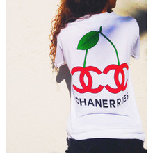 CHANERRIES WHITE T-SHIRT