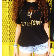 BBT BLACK & GOLD FOIL T-SHIRT