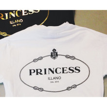 PRINCESS OF ILLANO WHITE T-SHIRT