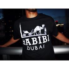 HABIBI DUBAI BLACK & WHITE T-SHIRT