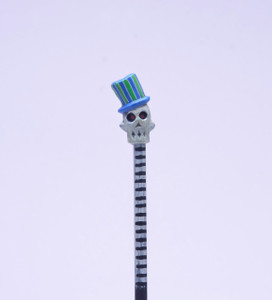 Blue Baron Skull Hand Made Pencil
