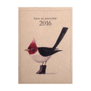 Have An Awesome 2016 Pocket Planner Calendar - 100% Recycled Paper