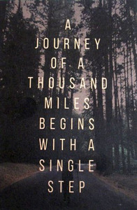 A Journey of a Thousand Miles Pocket Planner