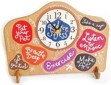 Reduce Stress Clock