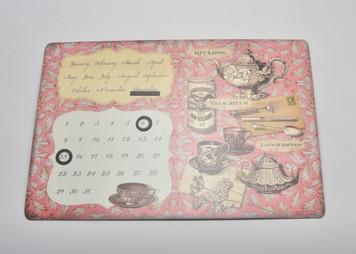 Perpetual Calendar Magnet Board