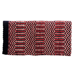 Double Weave Navajo Saddle Blanket by Weaver