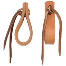 "Water Tie Ends with Brown Latigo Ties, 5/8"" by Weaver"