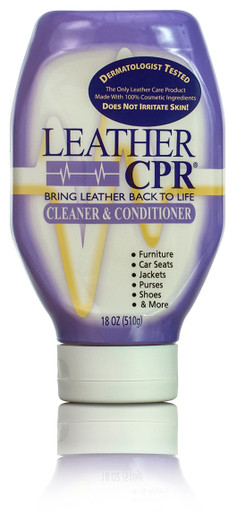 18 Oz. Inverted Squeeze Bottle - Leather CPR