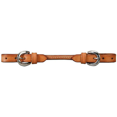 Round Leather Curb Strap by Colorado Saddlery
