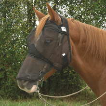 Cashel Quiet Ride Fly Mask Long Nose