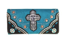 Montana West Turquoise Spiritual Collection Wallet