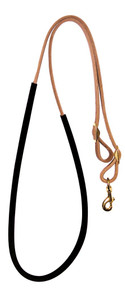 Fabtron Suede Wrapped Barrel Reins