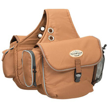 Weaver Trail Gear Saddle Bags in Black and Brown