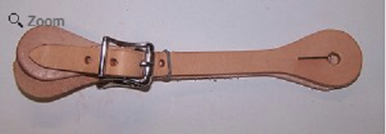 Youth Single Ply Spur Strap
