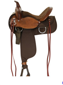NEW FABTRON LADY TRAIL WESTERN SADDLE RALIDE OR FLEX TREE 7156