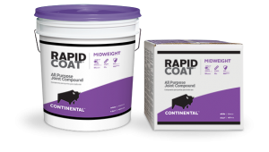 4.5 gal Continental Building Products Rapid Coat® Midweight Joint Compound (Box)