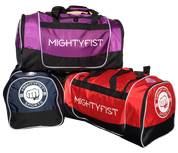 Mightyfist Duffle Bags - Red, Navy Blue, Purple