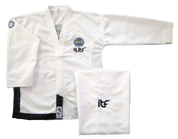 ITF Approved Matrix Black Belt uniforms