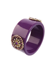 Bright chunky embellished bangle