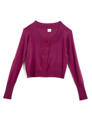 Mulberry cashmere cardigan