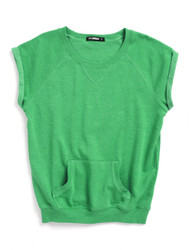 Green as grass sweat tee