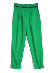 Classic capri cotton pants