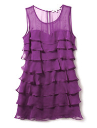Purple punch cocktail dress