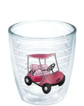 Tervis Tumbler 12 ounce-Pink Golf Cart