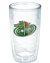 Tervis Tumbler 16 ounce-I'd Rather be Golfing