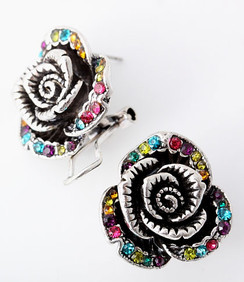 Earrings - Rose