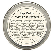 Lip Balm with Fruit Extracts