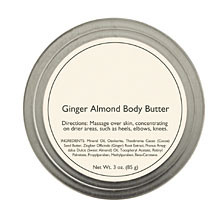 Ginger Almond Body Butter