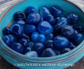 BLUE ONYX Tumbled Gemstone