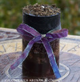PATCHOULI SPICE Brown Black Fusion Pillar Candle