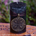 SHIELDMAIDEN Warrior Woman Nordic Dragons Talisman Ritual Blót Candle
