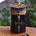 BLACKTHORN Mother of the Woods Old European Power Pillar Candle