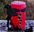 SORCIÈRE Old European Sacred Witch Sorceress Pillar Candle