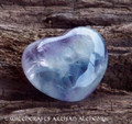 MEDITATION Fluorite Gemstone Heart