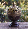 PAGAN TEMPLE Tibetan Copper Incense Burner