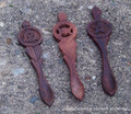 Sheesham Wood Ritual Spoon - Celtic Triquetra, Triple Moon or Pentacle