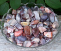 "BOTSWANA AGATE ""Stone of Comfort"" Set of 3 Tumbled Gemstones"