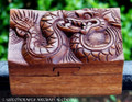DRAGON Wood Puzzle Box