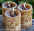 FRANKINCENSE MYRRH Pillar Votives w/ Pure Essential Oils
