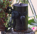 "RAVEN SPIRIT Old European ""Celtic-Nordic Lights"" Pillar Candle"